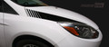 2011-2014 Ford Focus Hood Side Strobe Stripes