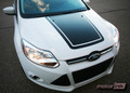 2011-2014 Ford Focus Blackout Hood Decal