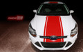 2011-2014 Ford Focus Hatchback Rally Style Stripes