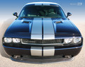 2008-2014 Dodge Challenger Over-the-Top Dual Rally Stripes