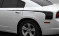 2011-2014 Dodge Charger Quarter Rear Panel Hockey Stick Side Stripes