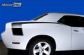2008-2015 Dodge Challenger Rear Hockey Stick Side Stripes Accent