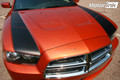 2011-2014 Dodge Charger Hood Side Accent Strobe Blackout Stripes