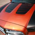 2011-2014 Dodge Charger Hood & Side Accent Strobe Blackout Stripes Decals
