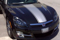 2007 2008 2009 Saturn Sky Rally Racing Style Over-the-Top Stripes