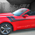 2015 2016 Ford Mustang Fender to Side Thunderbolt Accent Stripes Decals