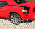 2015 2016 2017 Dodge Challenger Rear Quarter Side Stripes Bumble Bee Super Hockey