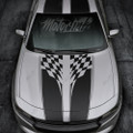 2015 2016 2017 2018 Dodge Charger Checkered Rally Racing Stripes Hood & Trunk Decals