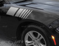 2015 2016 2017 Dodge Charger Fender Strobe Side Stripes Decals Sport Racing
