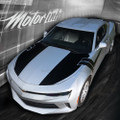 2016 2017 Chevy Camaro Thunderbolt Hood to Fender Side Trunk Stripes Decals