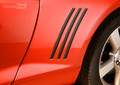 2010 2011 2012 2013 Chevy Camaro Side Vent Inserts Inlays Decals Stripes