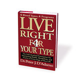 D'Adamo Nutrition, Live Right 4 Your Type (Hardcover)