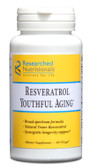 Researched Nutritionals, Resveratrol Youthful Aging