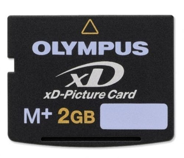 Dimensions:.1 in. H x 1.14 in. W x .67 in. L Materials:Electronic components Model No:M-XD2GMP Support your digital camera's storage perfectly with this digital memory card Olympus memory card is the only xD card to feature support for Olympus' Panorama function xD M+ memory cards are designed for Olympus digital cameras Olympus xD M plus Picture Card is compact for smaller and more stylish digital devices Memory card works quickly and easily for transferring images and data to a computer Card features 2GB of storage space Durable and reliable Compatible to all Olympus and Fuji xD m+ compatible devices Compatible with most manufacturers' xD M+ compatible devices Type M+ xD-Picture card is compatible with all xD-compatible cameras and is 1.5 times faster than the previous Type M card Increase in speed may be useful in sequential shooting of digital stills and in the recording of high-density video with Olympus cameras