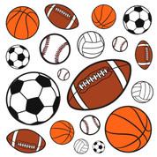 Sports Fan Jumbo Decals