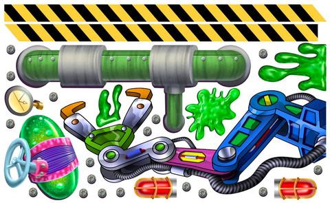 Slime Factory Peel'N'Stick Pack Pals