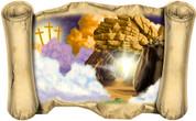 Resurrection - Bible Scroll