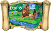 Creation Story Day 6 - Bible Scroll