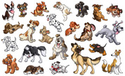 Animal Set: Puppies Peel'n'Stick Pack