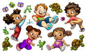 Toddlers Peel'n'Stick Pack
