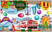 Roller Coaster Peel'N'Stick Sheet