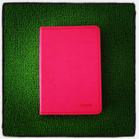 Leather Notebook (Small-Magenta)
