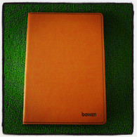 Leather Notebook (Large-Brown)