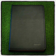 Leather Notebook (Large-Black)