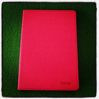 Leather Notebook (Large-Magenta)
