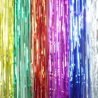 Foil Curtain 10cm x 1m - 6 colors