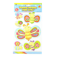 Kids Room Decor 3D Stickers - Butterflies & Bees