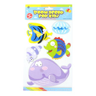 Kids Room Decor 3D Stickers - Sea Creatures