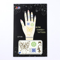 Tattoo Stickers for Hand ZJT-021