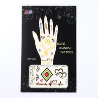 Tattoo Stickers for Hand ZJT-015