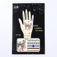 Tattoo Stickers for Hand ZJT-002