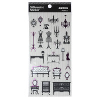 Silhouette Stickers Classic Furniture