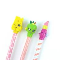 Shopkins 3 pcs Set Pencil Topper
