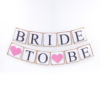 Retro Garland BRIDE TO BE for Bridal Shower