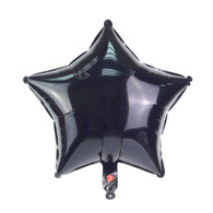 "Star Shape Balloon (17"" Black)"