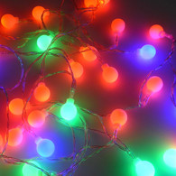 LED String Light- Round Shape (5m 40 LED/ 2.5m  20 LED in Assorted Color)
