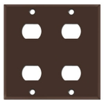 Brown Despard Wall Plate Covers
