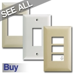 Touch-Plate Low Voltage Switch Plate Covers