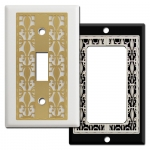 Fleur de Lis Switch Plates & Outlet Covers