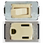 Ivory Despard Switches & Outlets