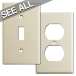 Ivory Switch Plates