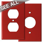 Red Outlet Covers