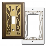 Ribbons Decorative Light Switch Covers