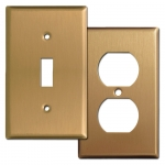 Satin Bronze Switch Plates