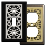 Mechanical Age Light Switch & Outlet Covers