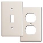 Light Almond Switch Plates